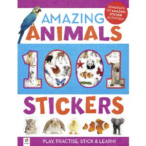 Hinkler Amazing Animal Sticker and Activity Book