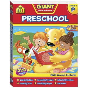 School Zone Giant Workbook Preschool
