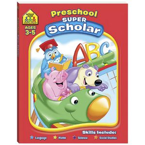 Super Scholar Deluxe Workbook Preschool