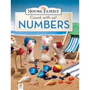 Mouse Family Count with Us Numbers Book