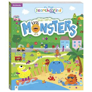 Hinkler My First Silly Little Monsters Book
