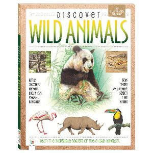 Hinkler Discover Wild Animals Book