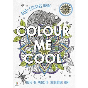 Hinkler Colour Me Cool Book