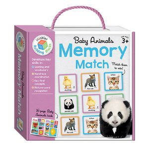 Building Blocks Memory Match Baby Animals