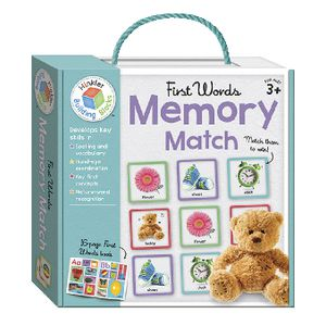 Building Blocks Memory Match First Words