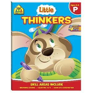 School Zone Little Thinkers Pre School Workbook