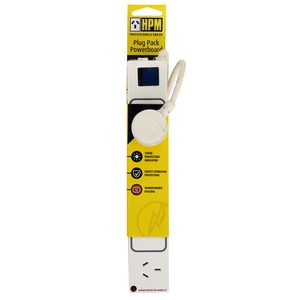 HPM Surge Protected 4 Outlet Powerboard