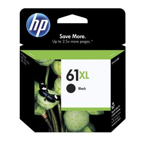 HP 61XL High Yield Ink Cartridge Black