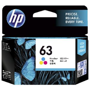 HP 63 Ink Cartridge Tri-Colour