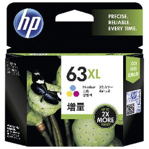 HP 63XL Ink Cartridge Tri-Colour