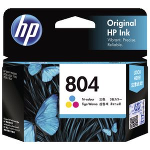 HP 804 Tri Colour Ink Cartridge