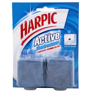 Harpic Foaming Blue Block 114g 2 Pack