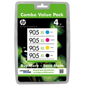 HP 905XL Ink Cartridge Value Pack