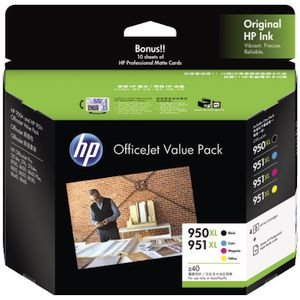 HP 950/951XL OfficeJet Value Pack