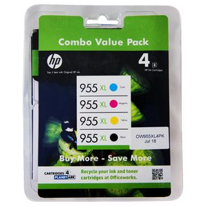 HP 955XL Ink Cartridge Value Pack