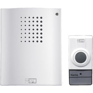 HPM Battery Operated Wireless Doorbell Chime