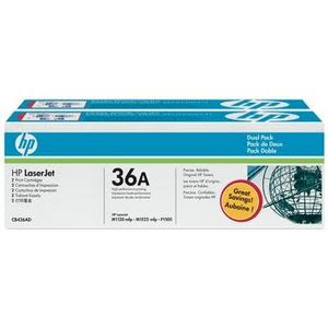 HP Toner Black 2 Pack CB436AD