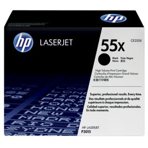 HP 55X High Yield LaserJet Toner Cartridge Black CE255X