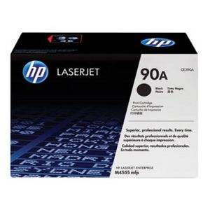 HP 90A LaserJet Toner Cartridge Black CE390A