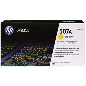 HP 507A Toner Cartridge Yellow CE402A