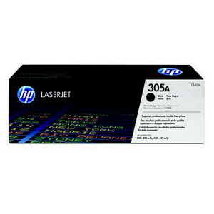 HP 305A LaserJet Toner Cartridge Black CE410A