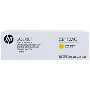 HP CE412AC Contract Toner Cartridge Yellow