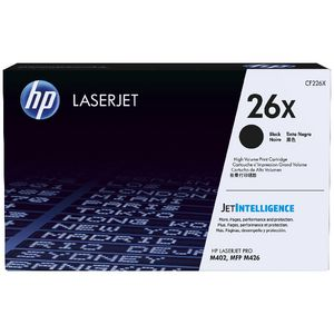 HP 26X High Yield LaserJet Cartridge Black