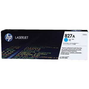HP 827A LaserJet Toner Cartridge Cyan