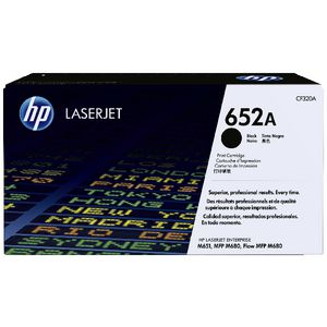 HP 652A LaserJet Toner Cartridge Black