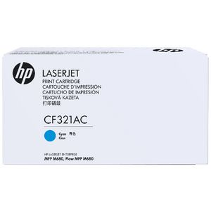 HP 653A Contract Toner Cartridge Cyan