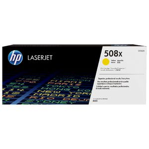 HP 508X High Yield LaserJet Cartridge Yellow