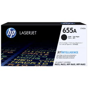 HP 655A Original LaserJet Toner Cartridge Black