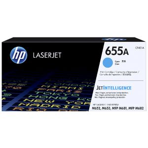 HP 655A Original LaserJet Toner Cartridge Cyan