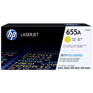 HP 655A Original LaserJet Toner Cartridge Yellow