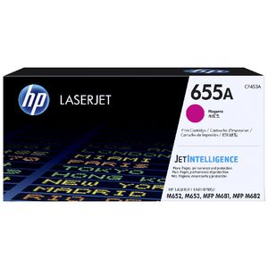 HP 655A Original LaserJet Toner Cartridge Magenta