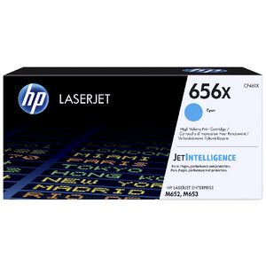 HP 656X Original LaserJet Toner Cartridge Cyan