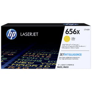 HP 656X Original LaserJet Toner Cartridge Yellow