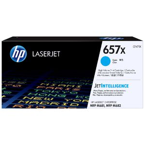HP 657X Original LaserJet Toner Cartridge Cyan