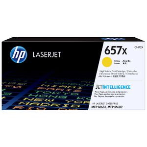 HP 657X Original LaserJet Toner Cartridge Yellow