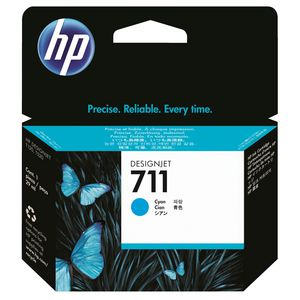 HP 711 Ink Cartridge Cyan 29mL