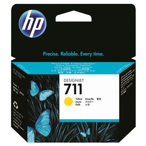 HP 711 Ink Cartridge Yellow 29mL