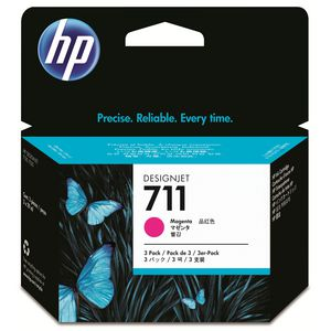 HP 711 Ink Cartridge Magenta 29mL 3 Pack