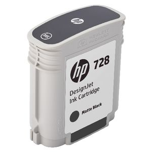 HP 728 DesignJet Ink Cartridge Matte Black