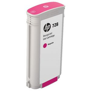HP 728 DesignJet Ink Cartridge Magenta