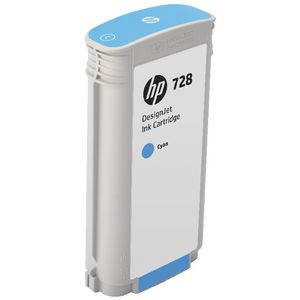 HP 728 DesignJet Ink Cartridge Cyan