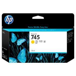 HP 745 DesignJet Ink Cartridge Yellow