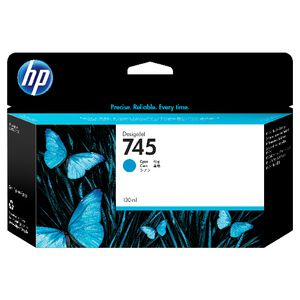 HP 745 DesignJet Ink Cartridge Cyan
