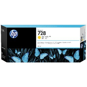 HP DesignJet 728 Ink Yellow