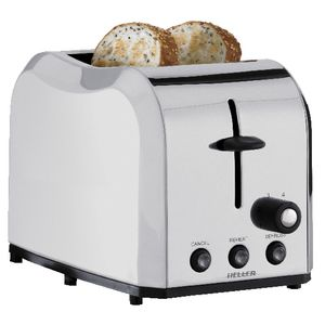 Heller Professional Stainless Steel Toaster 2 Slice