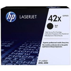 HP LaserJet Contract Toner Cartridge Black Q5942X